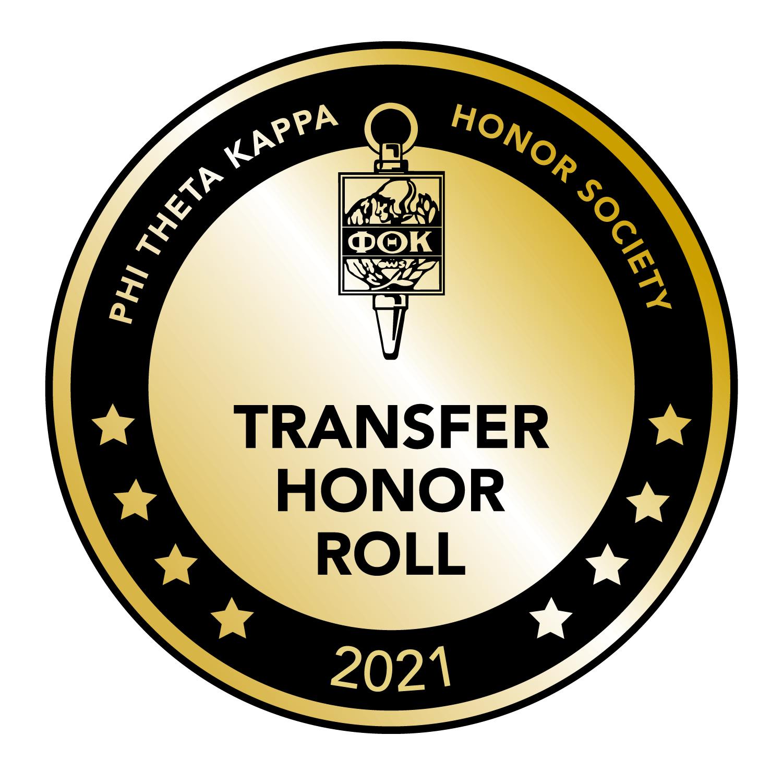 Phi theta kappa badge