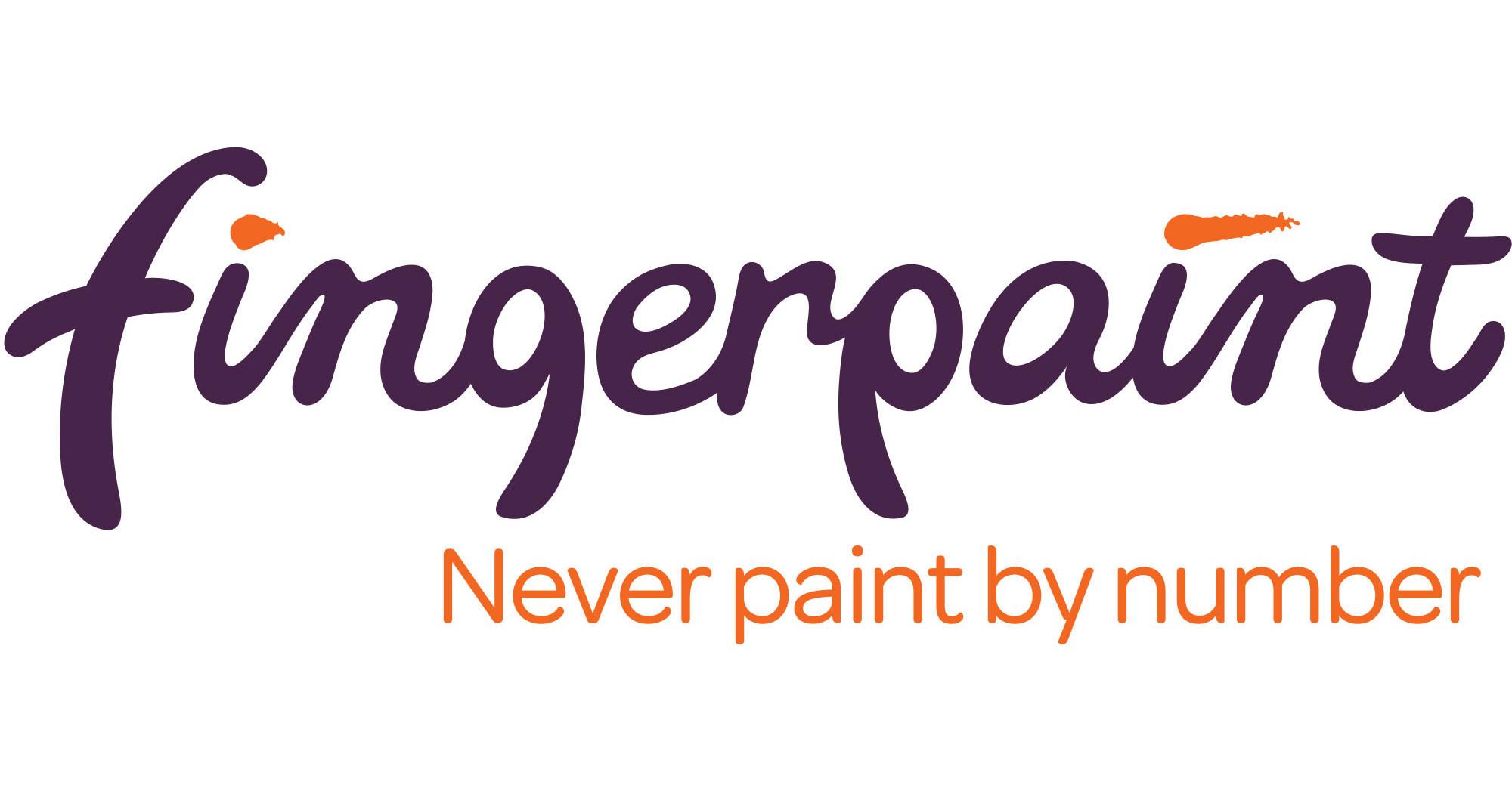finger paint logo