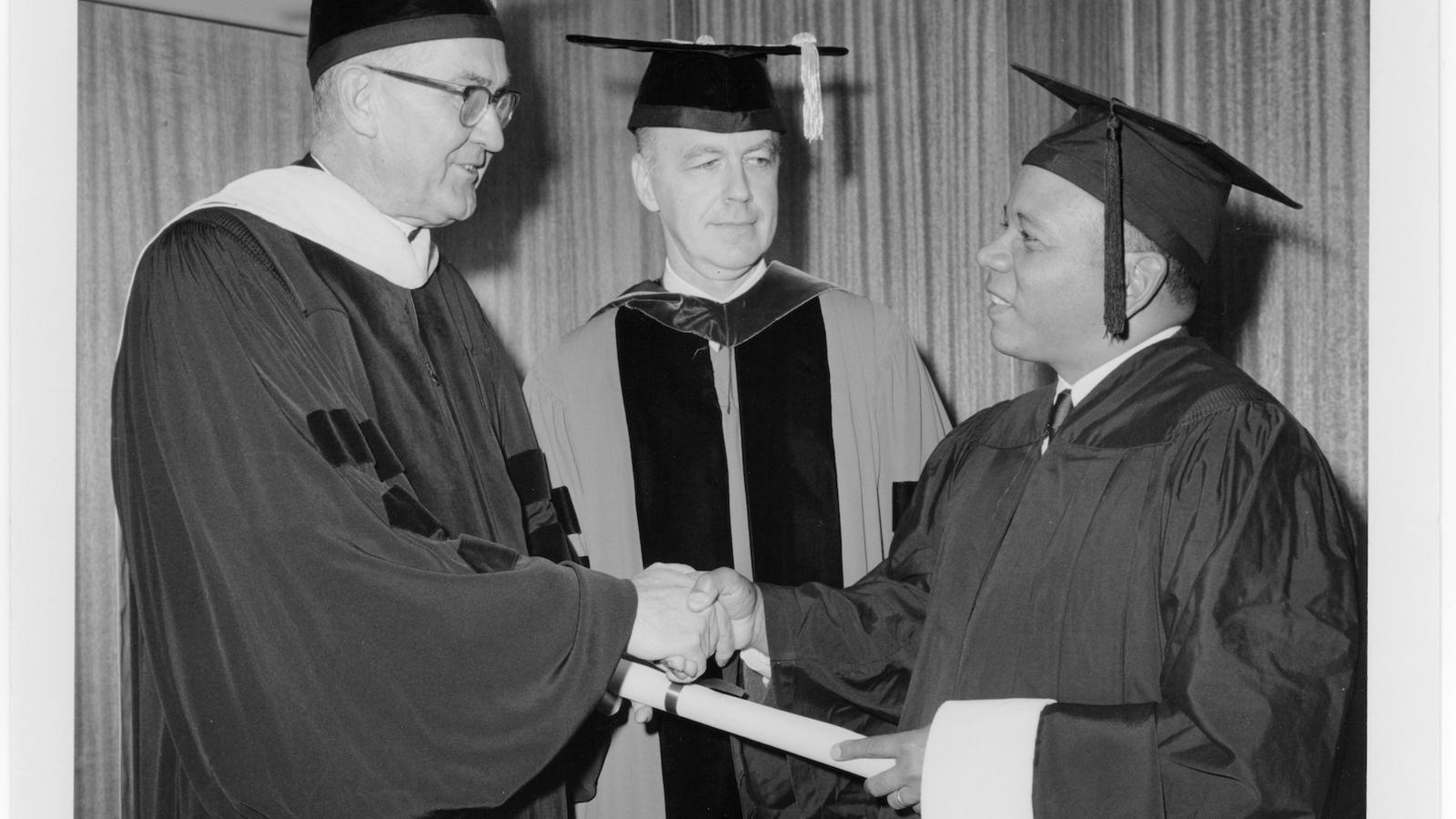 Judge Lawrence W. Pierce '48, '67 (Hon.)